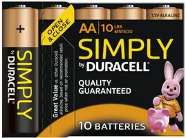 Batterie SIMPLY - AA (MN1500/ LR6) 10St.