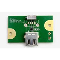 3D SYSTEMS CUBEPRO USB DEVICE PCB . (390101-03)