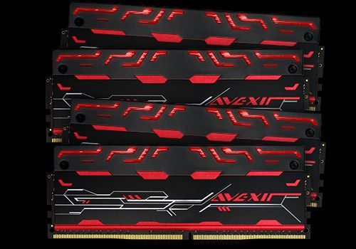 Blitz Series, rote LED, DDR4-3000,  CL16 - 32 GB Kit