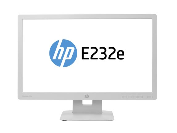 "EliteDisplay E232e - LED-skärm - 23"" - 1920 x 1080 Full HD - IPS - 250 cd/m2 - 1000:1 - 7 ms - HDMI, VGA, DisplayPort - ergogrå"