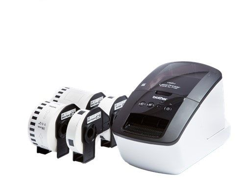 QL710WSP LABEL PRINTER INCL. 4 STANDARD ROLLS           IN LABE