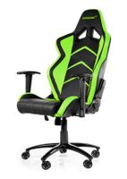 Player Gaming Chair Black Green
