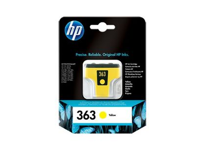 HP 363 Ink Cart Yellow Original (C8773EE#UUS)
