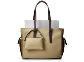 HP Ladies Slm Taupe Tote (T7B37AA#ABB)