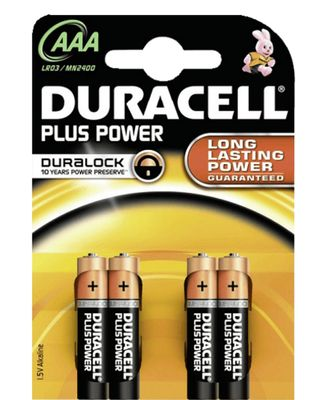 DURACELL Plus Power AL AAA