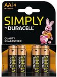 DURACELL Batterie Duracell SIMPLY - AA (MN1500/ LR6)              4St.