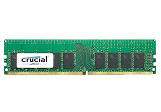 Crucial 8GB 2400MHz DDR4 CL17 SR x4 ECC Registered DIMM 288pin