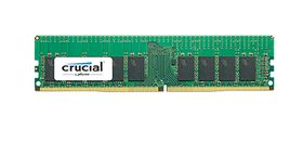 Crucial 8GB 2400MHz DDR4 CL17 DR x8  ECC Registered DIMM 288pin