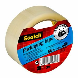 3M Packtejp Scotch, 66 m x 38 mm transparent (E3866S) (E3866S8*8)