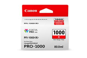 CANON PFI-1000 R RED INK TANK (0554C001)