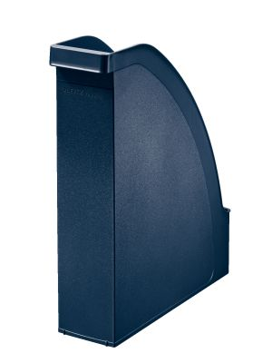 Magazine file re:cycle PS A4 70mm blue