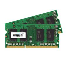 CRUCIAL DDR3L 1866MHz 8GB Kit iMac 8GB Kit (4GBx2) DDR3L 1866 MT/s (PC3-14900) CL13 SODIMM 204pin 1.35V for Mac (CT2C4G3S186DJM)