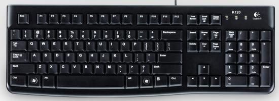 KEYBOARD K120 FOR BUSINESS SPANISH LAYOUT SP