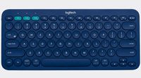 LOGITECH K380 KEYBOARD BLUE MULTI-DEVICEBLUETOOTH(UKENGLISH) UK WRLS (920-007581)
