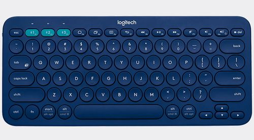 LOGITECH K380 MultiDev Bluetooth KBD Blue UK (920-007581)