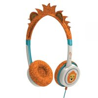 LITTLE ROCKERS COSTUME HEADPHONES ORANGE LION