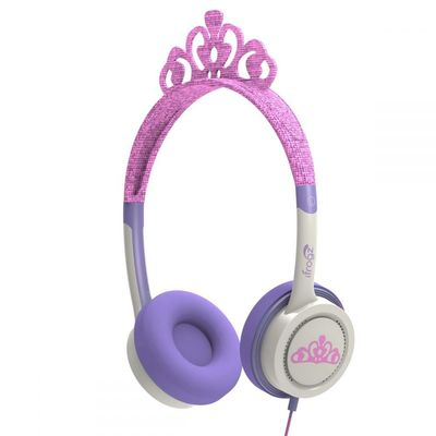 LITTLE ROCKERS COSTUME HEADPHONES PINK TIARA