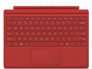 MICROSOFT SURFACE ACC TYPE COVER 4 KEYBOARD RED UK/ IRELAND          UK PERP