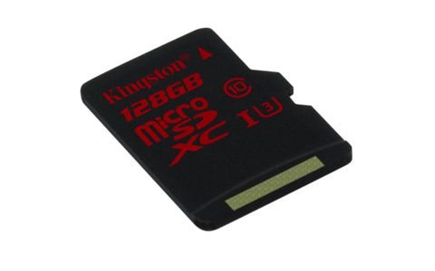 KINGSTON 128GB microSDXC UHS-I speed class 3 (SDCA3/128GBSP)