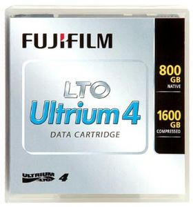 FUJI LTO Ultrium-4 800/ 1600GB Standard Pack Label (48185*20)