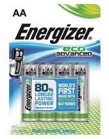 ENERGIZER AA/LR6 Eco Adv. 4-pack