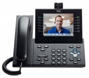 CISCO IP Phone/ 9971 Std Hndst w/Cam Charcoal (CP-9971-C-CAM-K9= $DEL)