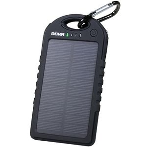DÖRR Solar Powerbank SC-5000 black green (980565)