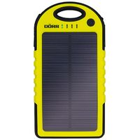 Solar Powerbank SC-5000 black yellow