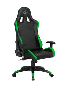 ALPHA GAMER Vega Black/ Green (AGVEGA-BK-GRN)