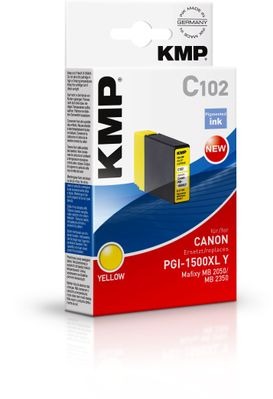 C102 ink cartridge yellow compatible with Canon PGI-1500XL