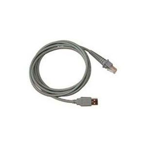 DATALOGIC CAB-426, CABLE SH5044, USB TYP A, STRAIGHT, 3,7M CABL (90A052072)