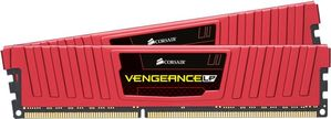 CORSAIR V LPX 8GB DDR4 Red 2x288, 4133MHz (CMK8GX4M2B4133C19R)