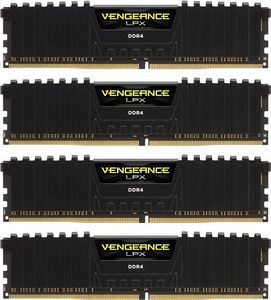 CORSAIR 64GB (4-KIT) DDR4 3333Mhz Vengeance LPX (CMK64GX4M4B3333C16)