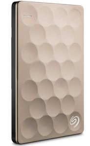 SEAGATE BACKUP PLUS ULTRA SLIM 2TB 2.5IN USB3.0 PORTABLE HDD GOLD   IN EXT (STEH2000201)