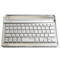 Keyboard, Bluetooth,  for iPad Mini, silver