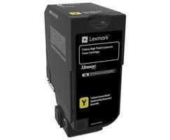 Lång livslängd - gul - original - tonerkassett LCCP, Corporate - för CS725de, CS725dte