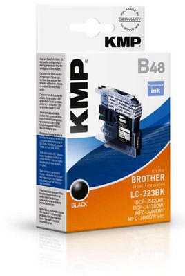 B48 ink cartridge black compatible mit Brother LC-223 BK