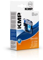 B49 ink cartridge cyan compatible with Brother LC-223 C