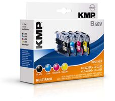 B48V Multipack compatible with Brother LC-223 BK/C/M/Y