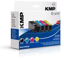 E167V Multipack BK/C/M/Y compatible with Epson T 2616