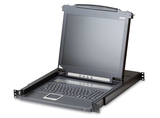 """Slideaway console 17"""" LCD"""
