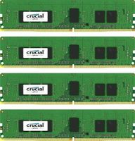 CRUCIAL 16GB KIT (4GBX4) DDR4 2400 MT/S CL17 SRX8 REGISTERED DIMM 288PIN (CT4K4G4RFS824A)