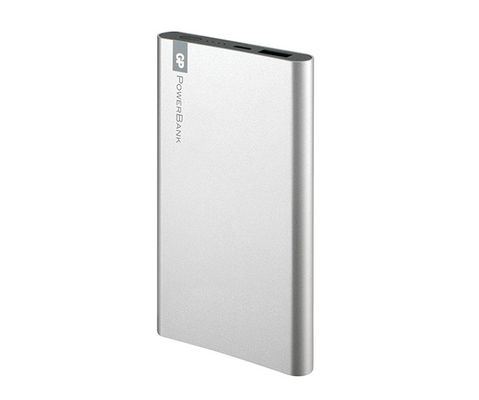 GP PORTABLE POWERBANK SILVER 5000mAh GPFP05
