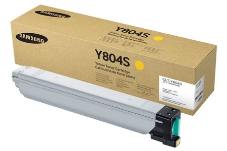 SAMSUNG Yellow Toner  Cartridge  (CLT-Y804S)