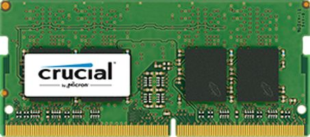 CRUCIAL 8GB DDR4 2400 (PC4-19200) CL17 (CT8G4SFS824A)