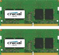 CRUCIAL 16GB KIT (8GBX2) DDR4 2400 MT/S PC4-19200 CL17 SRX8 UNBSODIMM MEM (CT2K8G4SFS824A)