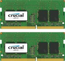 DDR4 2400MHz 16GB KIT SODIMM 8GBx2,  PC4-19200,  CL17, SR x8, Unbuffered SODIMM 260pin Single Ranked