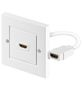 GOOBAY 51722 HDMI™ wall socket