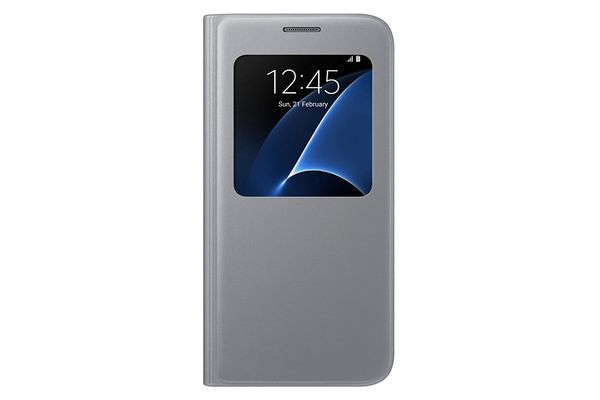 SAMSUNG S-View Cover Galaxy S7 Silver (EF-CG930PSEGWW)