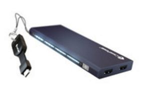 CLICK-TO-GO (8500MAH MICROUSB DEEP BLUE)